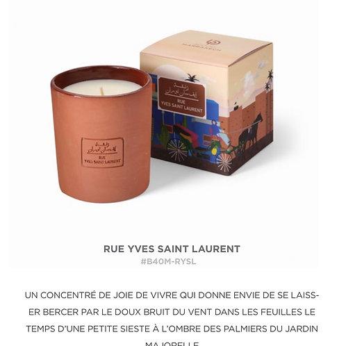 Bougie Rue Yves Saint-Laurent
