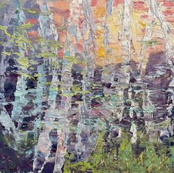 In Memoriam, oil by Catherine Perrone