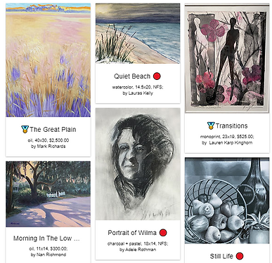 """<p class=""""font_8"""">Enjoy the artwork and we welcome comments. Our many thanks to the members for their submissions, Carolyn Latanision for judging the show and to the Westwood Library for hosting our exhibit!&nbsp;&nbsp;</p>"""