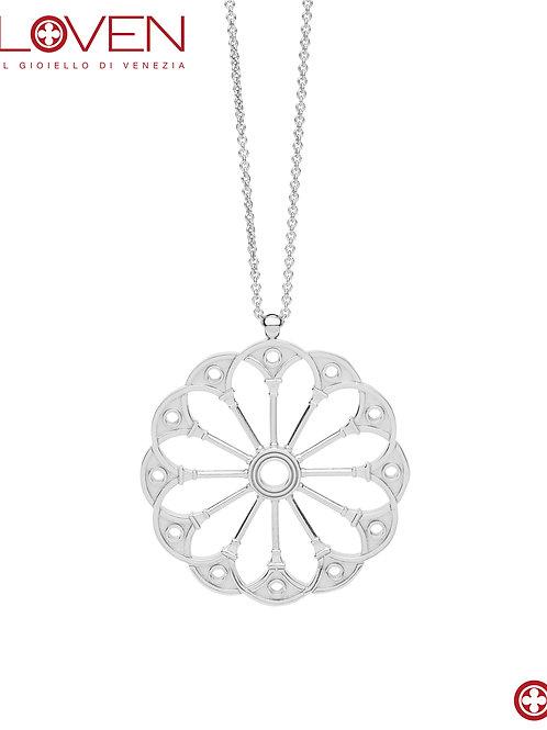 """Rosone Bovolo """"silver shine medium chain"""""""