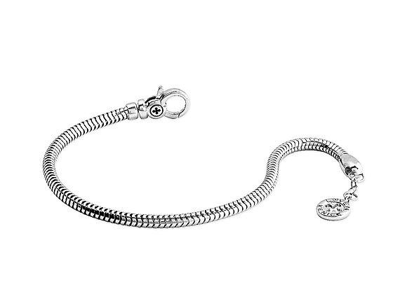 Bracciale Snake a Vite silver shine