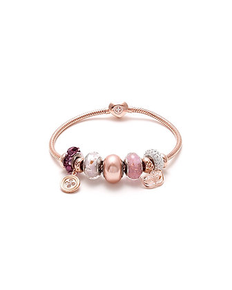 """Bracciale Snake a Cuore """"example"""""""