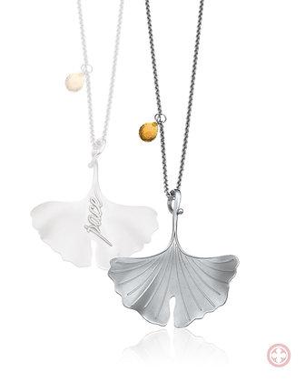 """Ginko Leaf """"Pace"""" Silver Shine (versión grande)"""