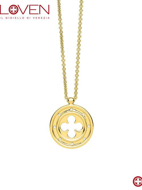 Rosone Quadrilobato a Croce Gold