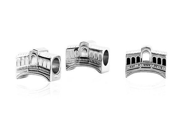 Charm ponte di Rialto silver shine