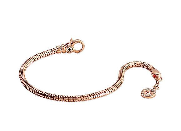 Bracciale Snake a Vite rosé gold