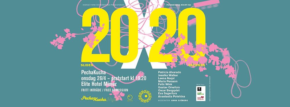 Pecha Kucha 20x20