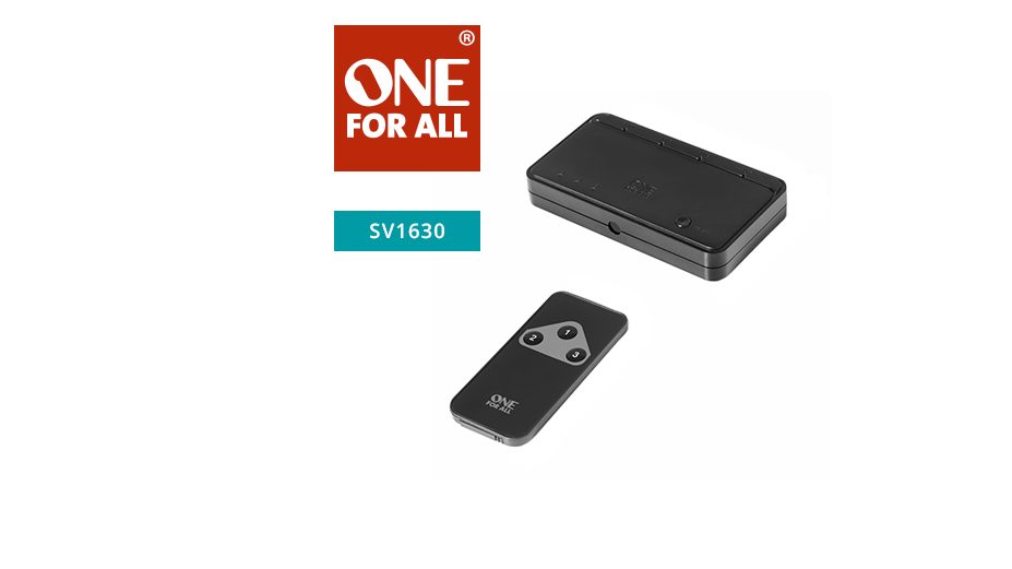 One‐For-All Automatic HDMI Switcher