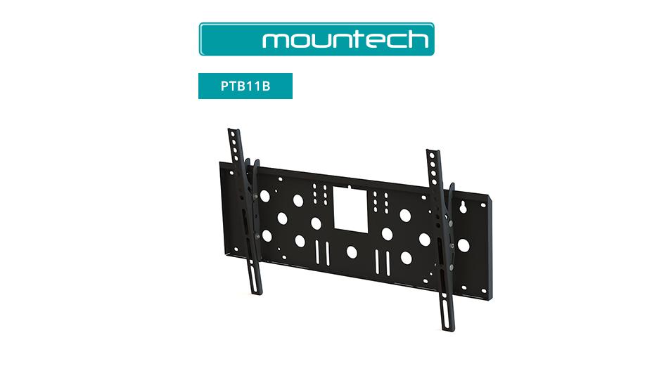 """Flush and Tilt Wall Mount ‐ 37‐65"""" (Black)"""