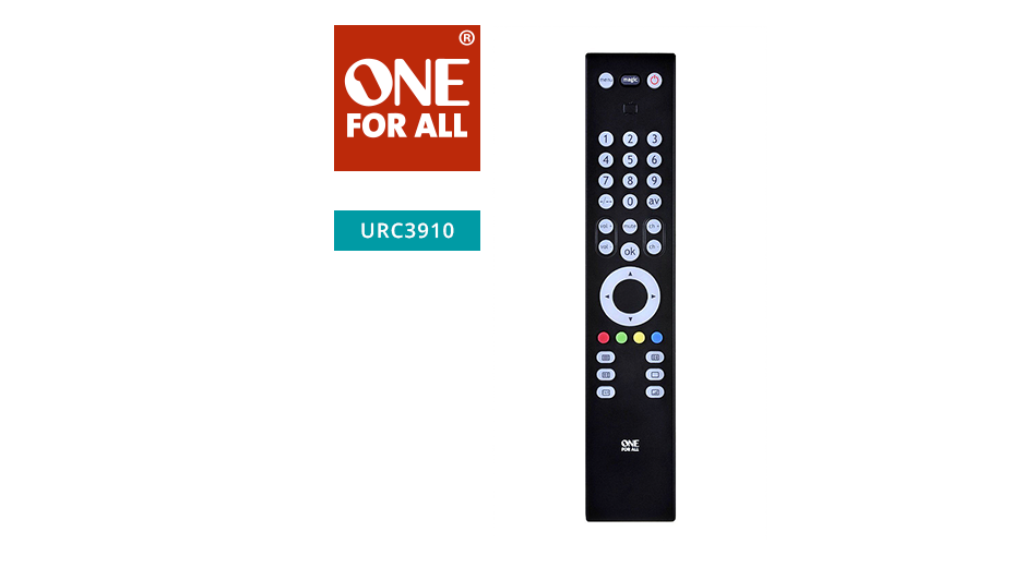 One-For-All Slimline TV Remote control