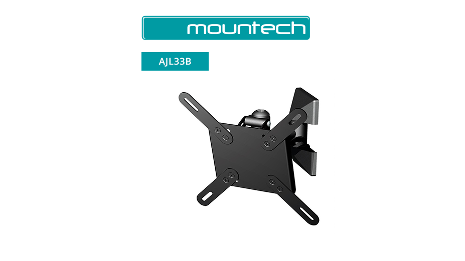 Single arm tilt & swivel wall mount 10 ‐ 32""