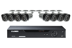 LHV10081TC8P - Lorex by Flir 8 Channel Series Security DVR system with 720p HD Cameras