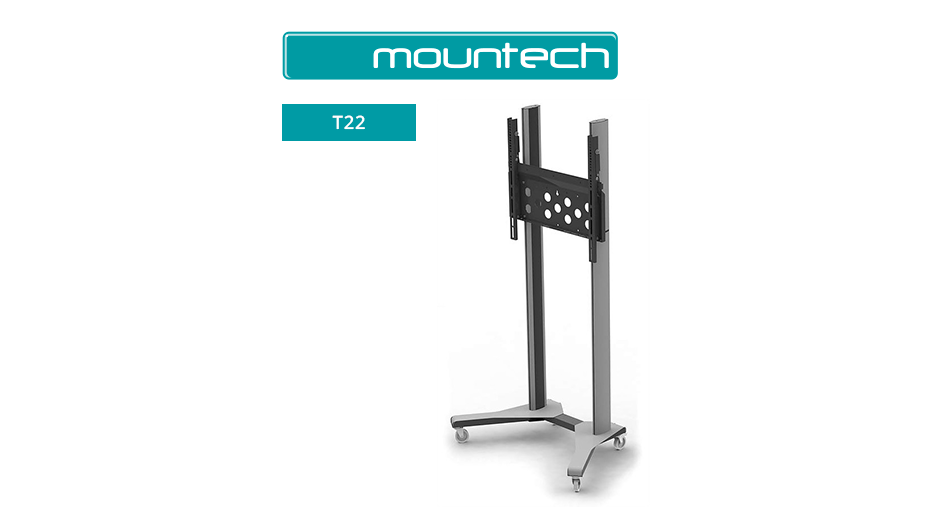 AV Trolley suitable for 50 to 90 inch screens (100kg max)