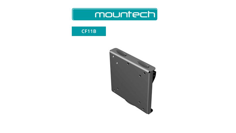 "Flush Wall Mount ‐ 10"" ‐ 26"" (Black)"
