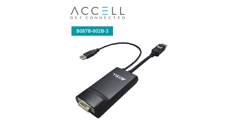 UltraAV® DisplayPort to DVI-D Dual-Link Adapter