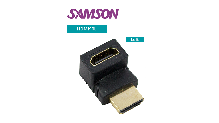 V1.4 Gold Plated HDMI Cable - Left