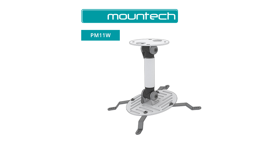 Universal projector ceiling mount 300x300 (Max 15kg)