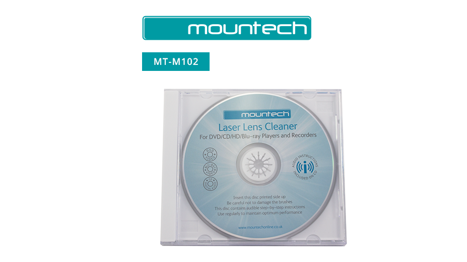 Mountech Laser Lens Cleaner For Ultra HD/Blu-ray/DVD Players and Recorders