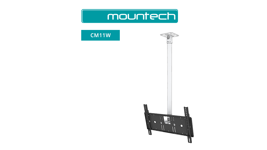 "1 Metre Drop TV Ceiling Mount (cuttable) 32"" - 55"""