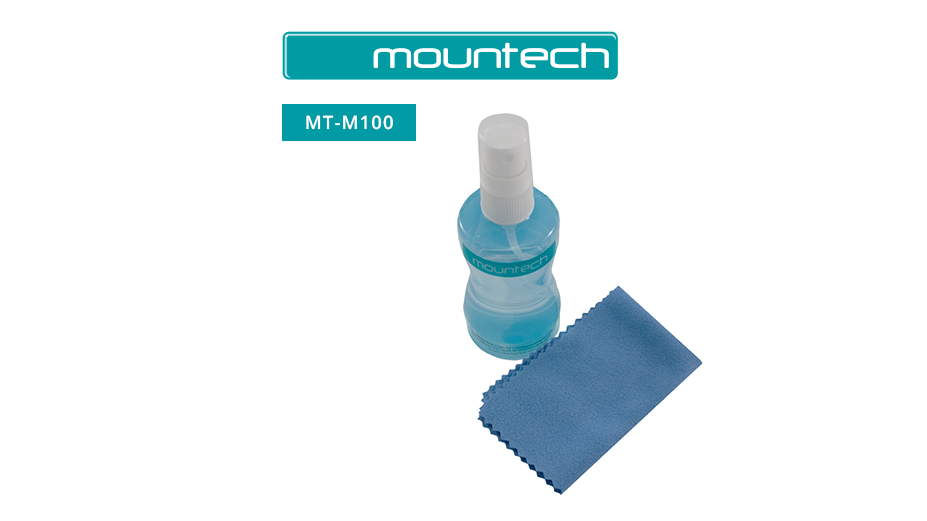 Mountech Screen Clean Kit - Spray & Cloth
