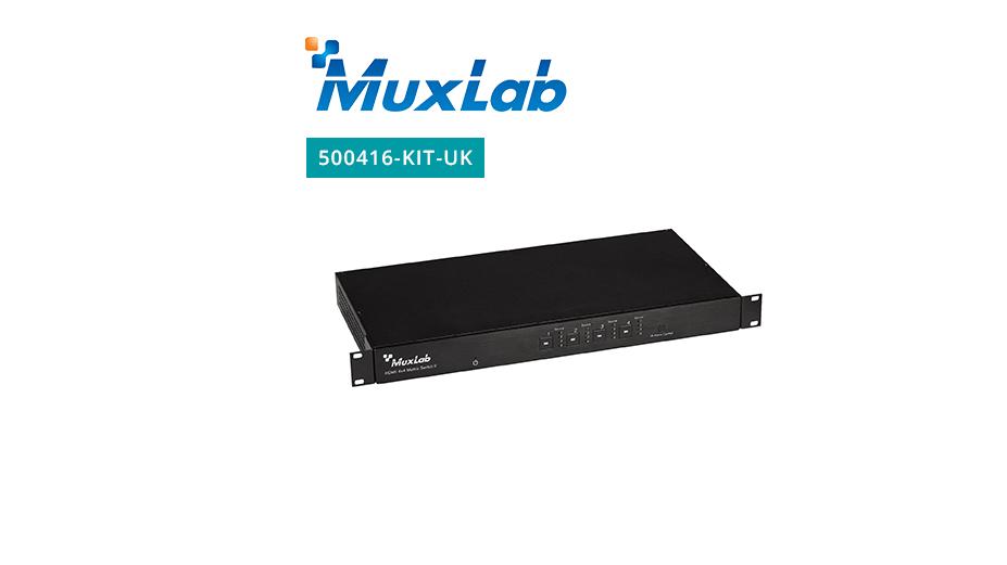 HDMI 4x4 Matrix Switch HDBaseT Kit, PoE