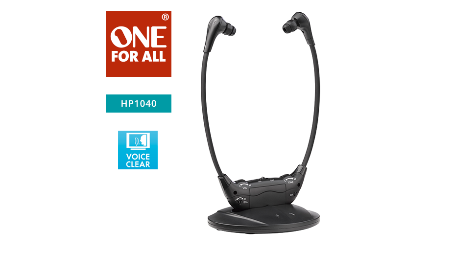 Rechargeable wireless stethoscope TV headset