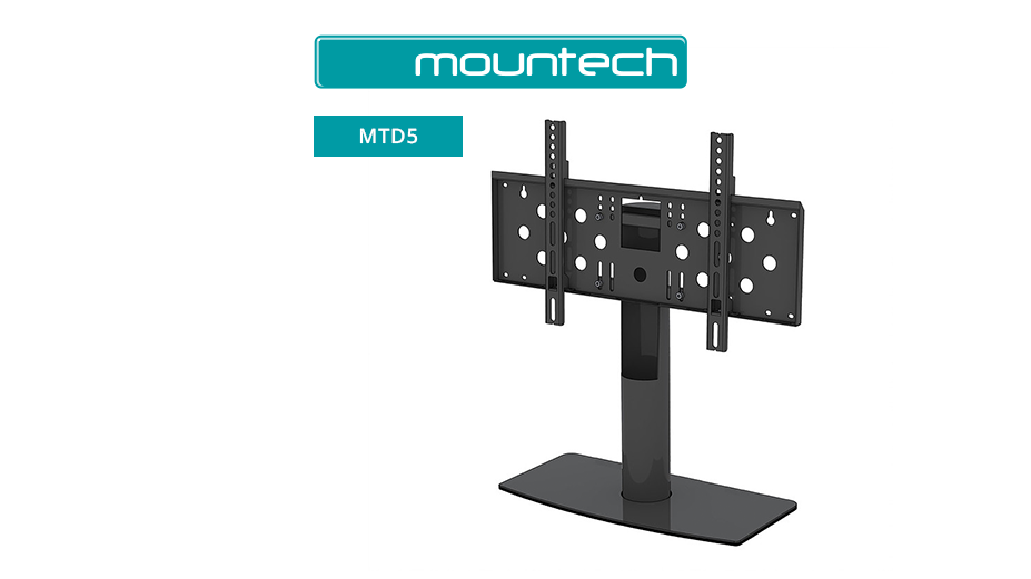 "Stylish table stand for screens 50"" - 70"""