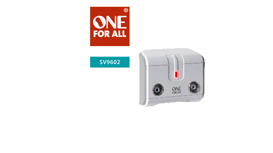 One‐For-All Signal Booster/Splitter
