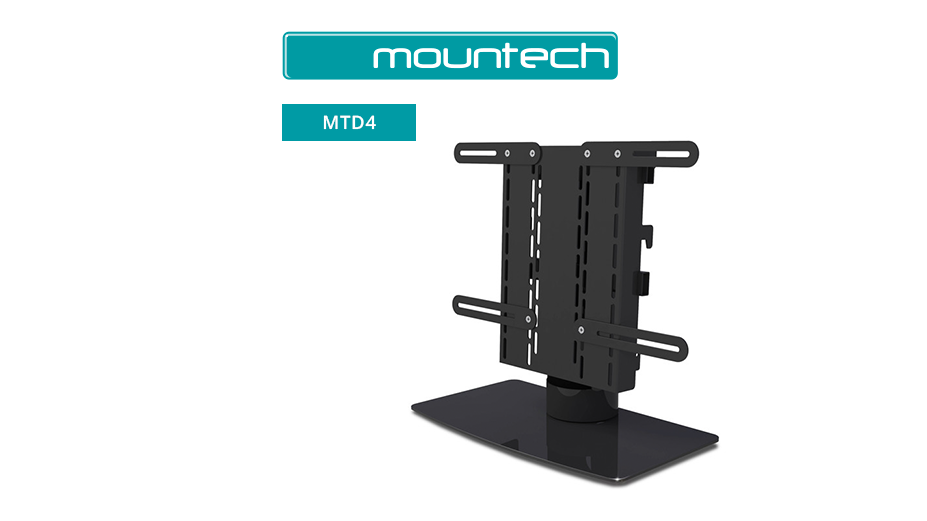 "Stylish table stand for screens 21"" ‐ 32"""