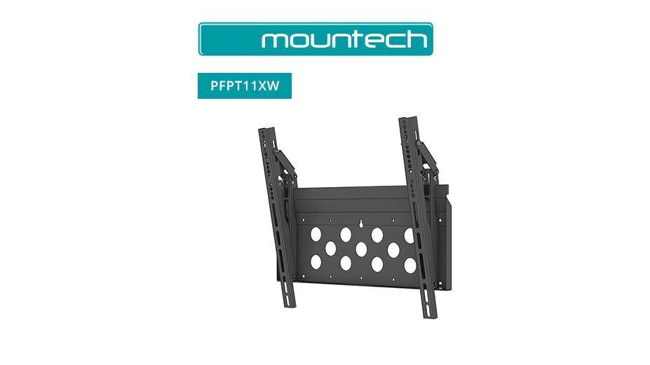 """Flush and Tilt Wall Mount ‐ 52"""" ‐ 95"""" (Black)"""