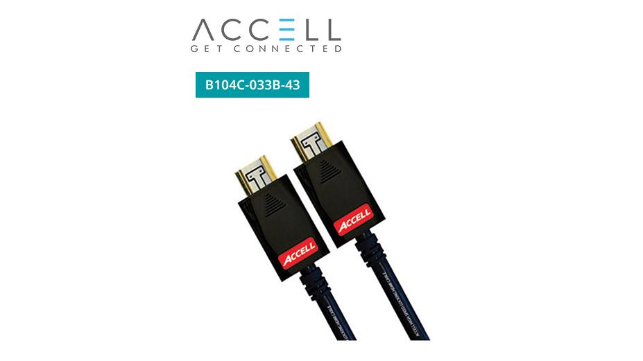 AVGrip® Pro Locking High Speed HDMI Cable - 10m