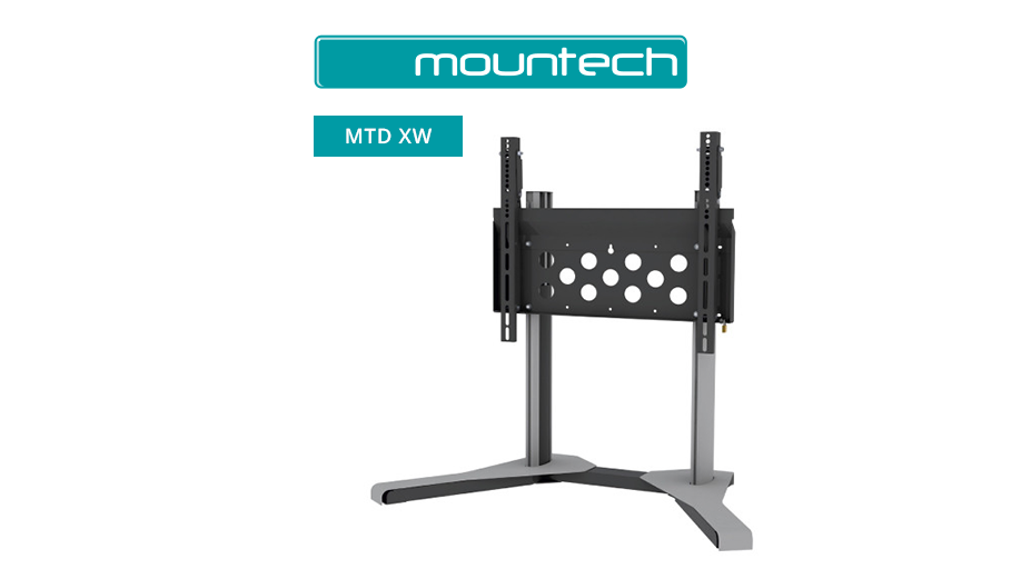 "Stylish table stand for screens 55"" - 90"""