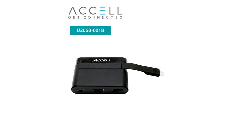 USB-C Mini Dock - HDMI 2.0, USB-A 2.0, and USB-C Charging Port