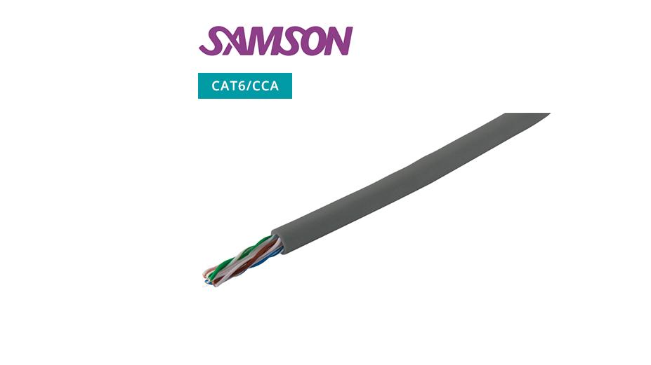 CAT 6 UTP Cable ‐ CCA ‐ Grey ‐ 305m