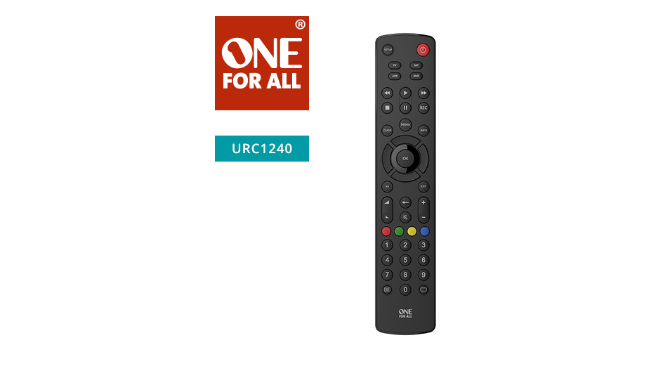 One‐For-All Universal Remote Control