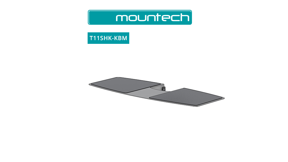 Keyboard and Mouse Shelf Kit for T11
