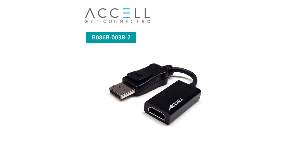 UltraAV® DisplayPort 1.1 to HDMI 1.4 Active Adaptor
