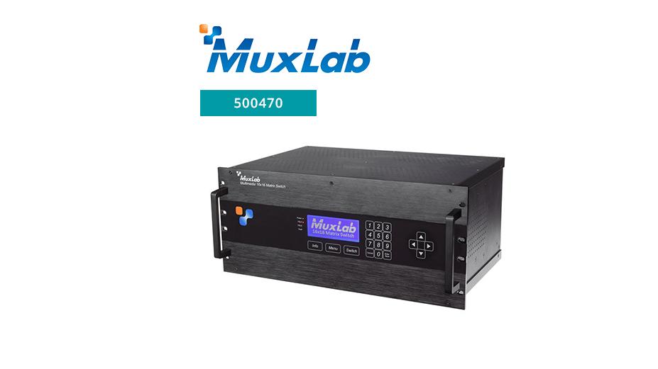 Multimedia 16x16 Matrix Switch Chassis