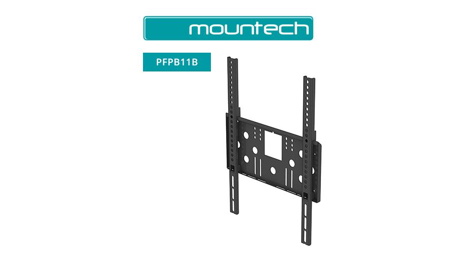 "Flush Wall Mount ‐ 37"" ‐ 55"" (Black)"