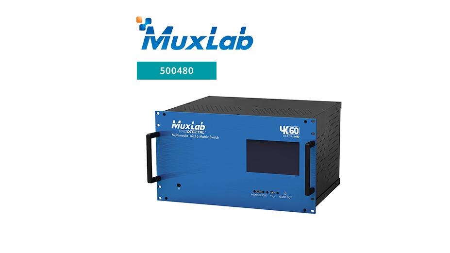 Multimedia 16x16 Matrix Switch – 4K60