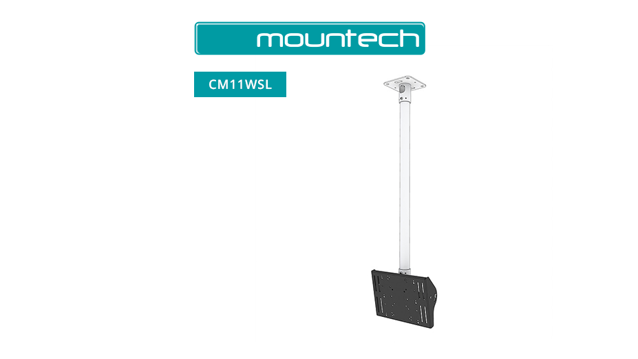 "1 Metre Drop TV Ceiling Mount (cuttable) 18"" - 39"""
