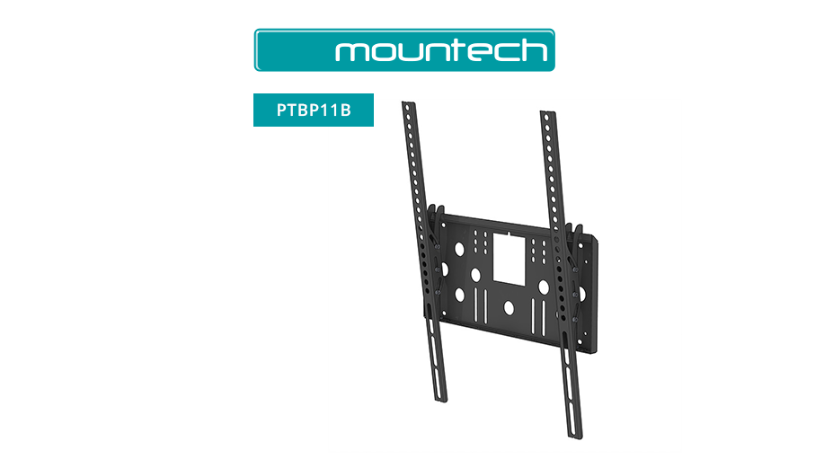 "Flush and Tilt Wall Mount ‐ 32"" ‐ 55"" (Black)"
