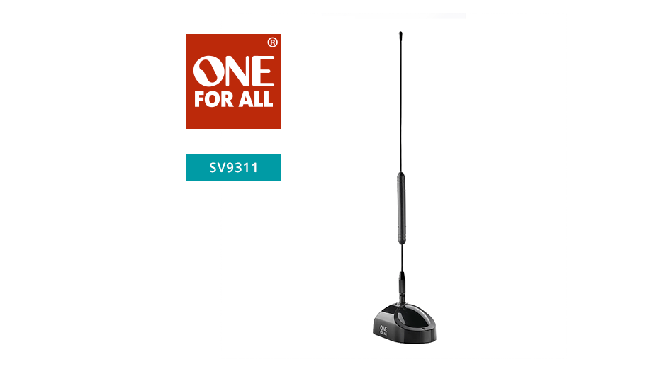 One‐For-All Tube Indoor TV Aerial