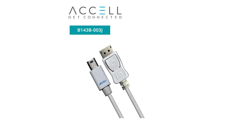 UltraAV® Mini DisplayPort to DisplayPort 1.2 Cable - 1m