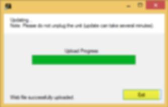 Upload Process Successful