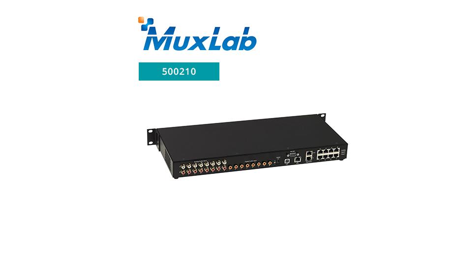 8x8 Cat5e/6 Line Level Audio Matrix Switch