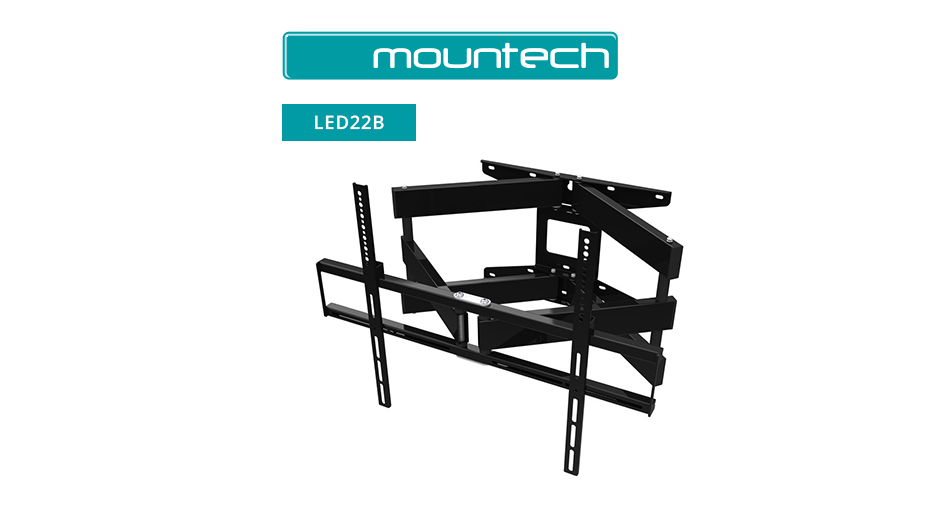 Articulated wall mount for flat screens 37 - 65""