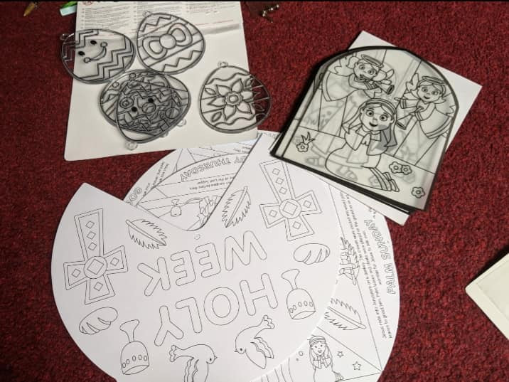 childrens activities to colour and make