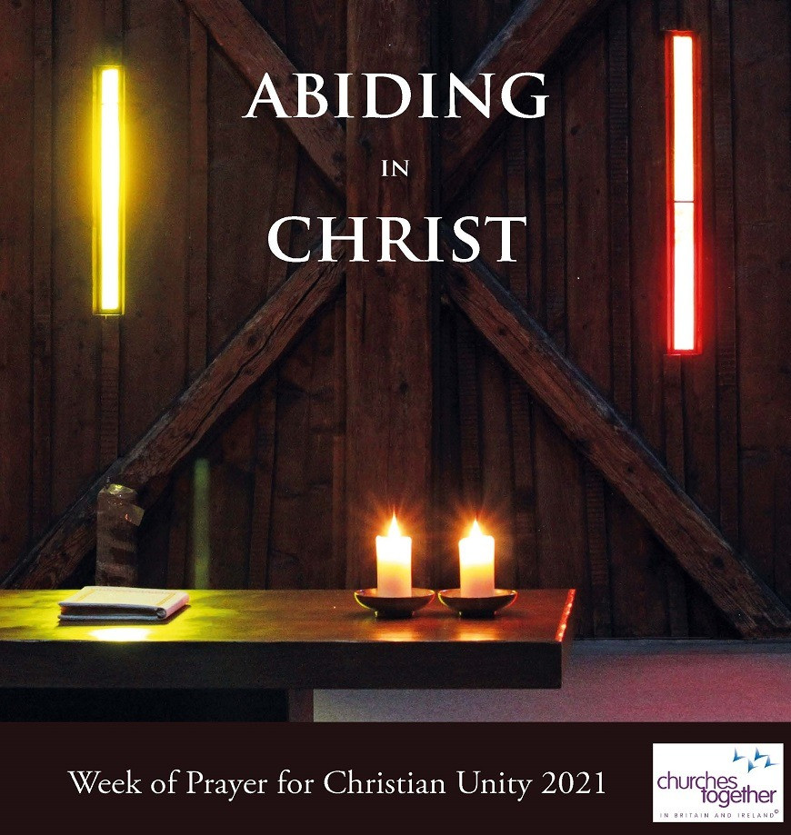 Abiding in Christ, lighted candles