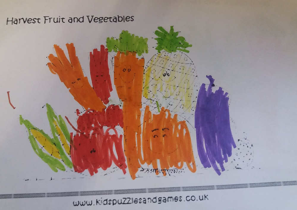 Harvest fruit and vegetables